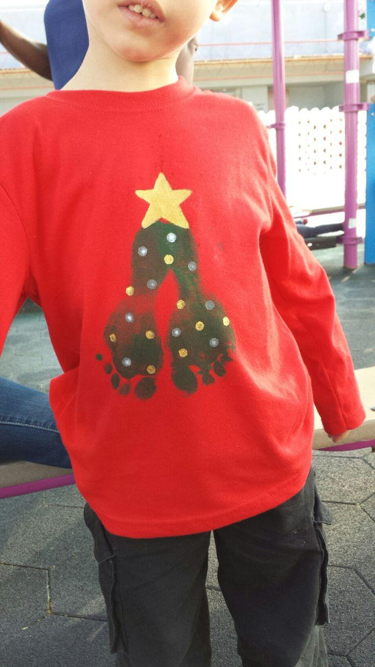Camisa para parranda navideña  '16