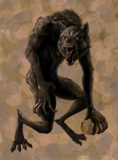 Lycanthropy | Monsters Forever | Fantasy monster, Werewolf ...