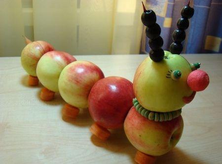 поделки из фруктов