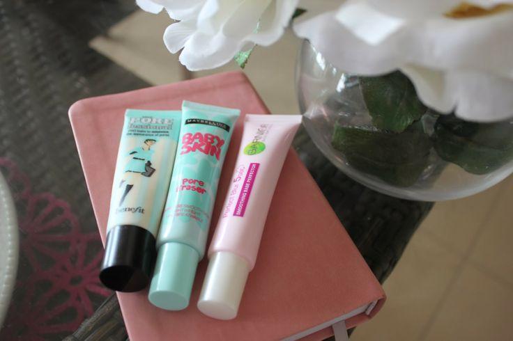 PRIMER REVIEW: Benefit 'The POREfessional', Maybelline 'Baby Skin' and Garnier 'Perfect Blur' by Life With Lucee