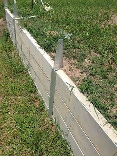 retaining wall posts (galvanised)concrete sleeper retaining walls ...