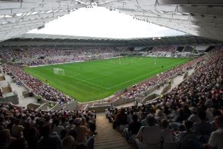 The Liberty Stadium, home of Premier League side Swansea City FC (via VisitSwanseaBay.com)