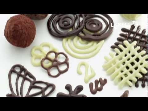 Mariposas de chocolate para cupcakes o tartas - YouTube
