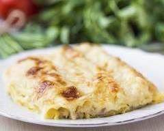 Cannelloni gratinés au fromage Ingrédients