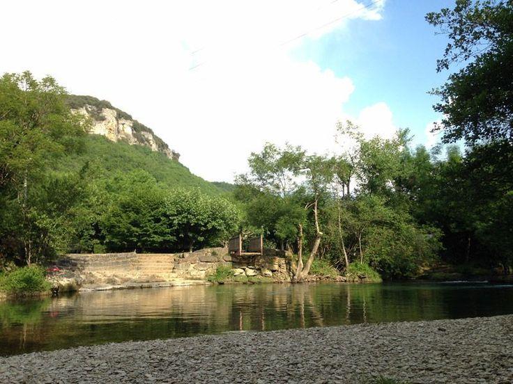 Camping Dordogne : La rivière proche du camping
