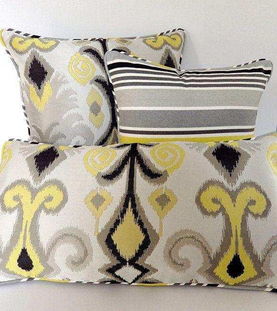 Diese würden in meinem gelben und grauen Traumschlafzimmer perfekt sein.