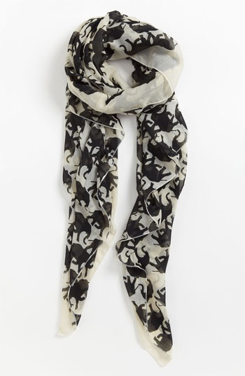 Natasha Couture Elephant Scarf available at #Nordstrom