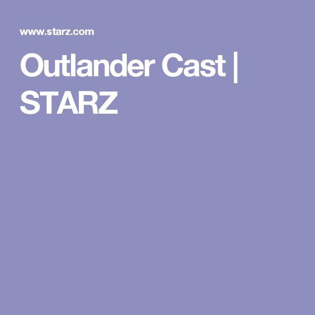 Outlander Cast | STARZ