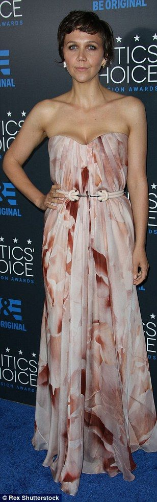 Bombshells:Jaime Pressly, Angie Harmon and Maggie Gyllenhaal all donned revealing gowns a...