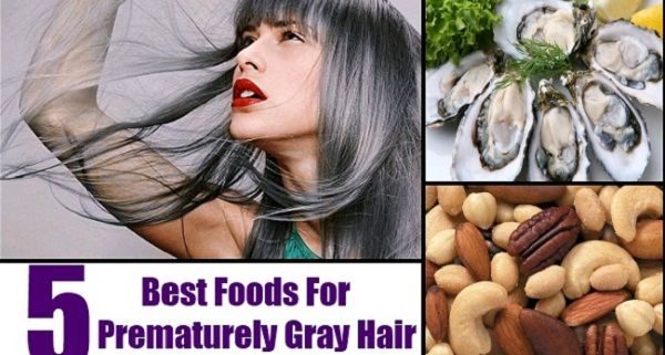 Foods To Prevent Grey Hair