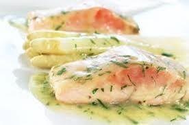 Pescado marinado en salsa de limón y cilantro, receta de Linda Brockmann.