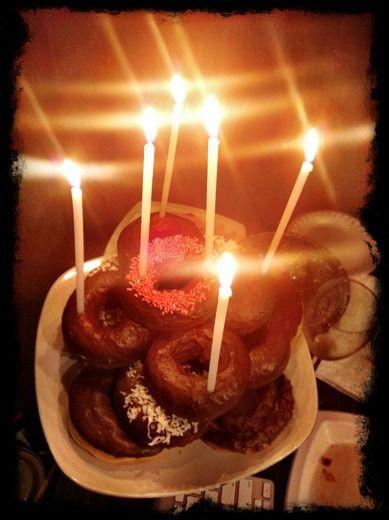 Donut birthday cakeArt Parties, Birthday Parties, Donuts Cake, Parties Ideas, Bday Parties, Birthday Donuts, Donuts Birthday Cake, Birthday Birthday, Birthday Ideas