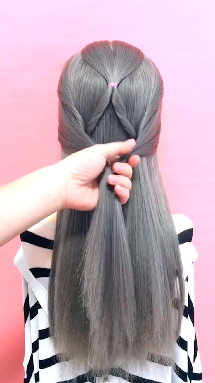 Hairstyles Hairstyletutorial Longhair Hairvideo Keywords Beautiful Related Keywords Beau In 2020 Easy Hairstyle Video Hair Videos Wedding Hairstyles Videos
