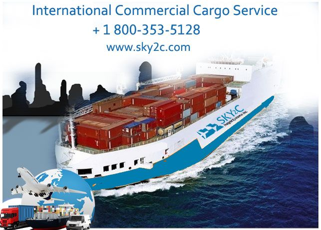 International Commercial Cargo Service by Sky2c Freight Systems.