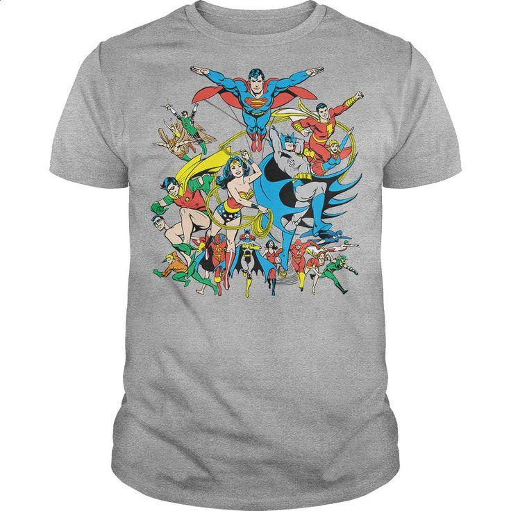 DC Justice League Assemble T Shirts, Hoodies, Sweatshirts - #t shirt designer #silk shirt. ORDER NOW => https://www.sunfrog.com/Geek-Tech/DC-Justice-League-Assemble.html?60505