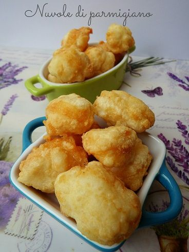 Nuvole di parmigiano - ricetta antipasto