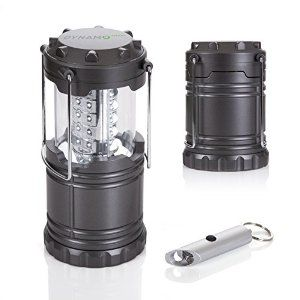 camping lantern with free flashlight led brightest led lantern powerful 30 leds water resistant great for outdoors hiking or emergency light
