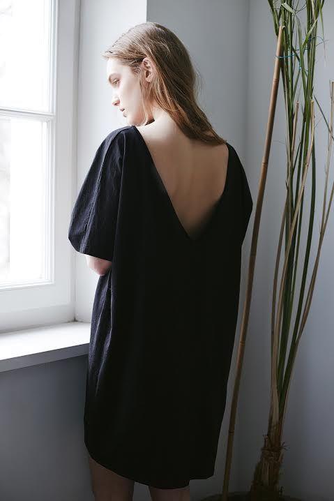 THE ODDER SIDE V-back dress. Shop at www.theodderside.com
