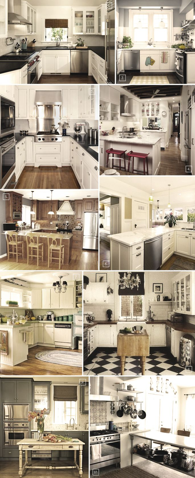 U shaped kitchen designs, the compact ones, are the most efficient layouts you can have. Just spin around and you can reach different cabinets, the sink, cooker, etc. A few layout ideas include: Having the U wrap around three walls just like in photos: (1) (2) (3) If you have a larger kitchen space then […]