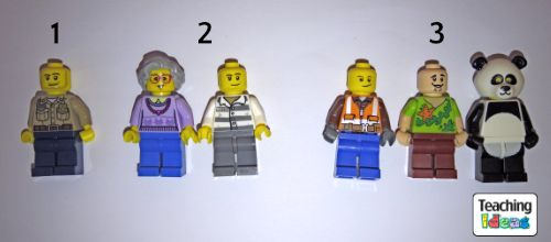 Counting minifigures