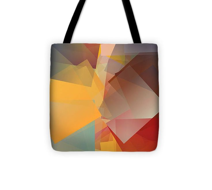 Cubism Abstract 168 Tote Bag #totebag #bag #abstract #colorful #design #art #Lifestyle