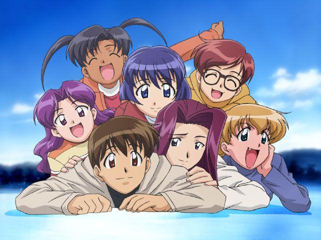 Ai Yori Aoshi characters.
