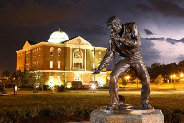 Tupelo Mississippi ~ best known as the birthplace of Elvis Presley, the king of rock & roll.