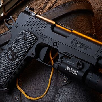 http://ss1.us/a/1nlDePfJ Just picked up this bad boy in 9mm and I have to say I am loving every minute of it. Nighthawk is not cheap but the quality comes through in it's One Gun One Gunsmith motto and American Craftsmanship made by American workers. #America #1911