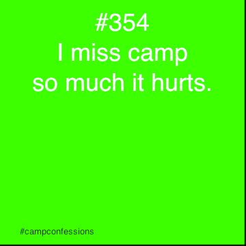 It hurts. So bad. I miss camp and my Kesem family. But its okay, because they are always with me in my heart.