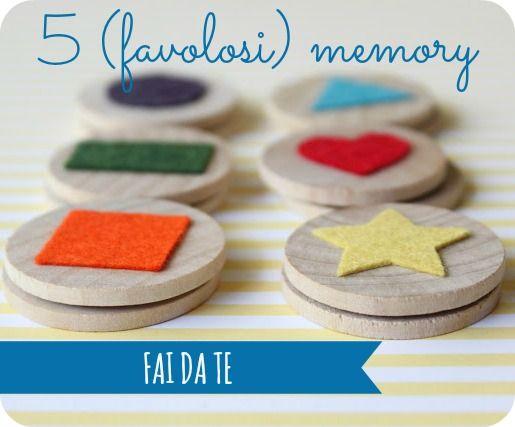 5 (favolosi) memory fai da te