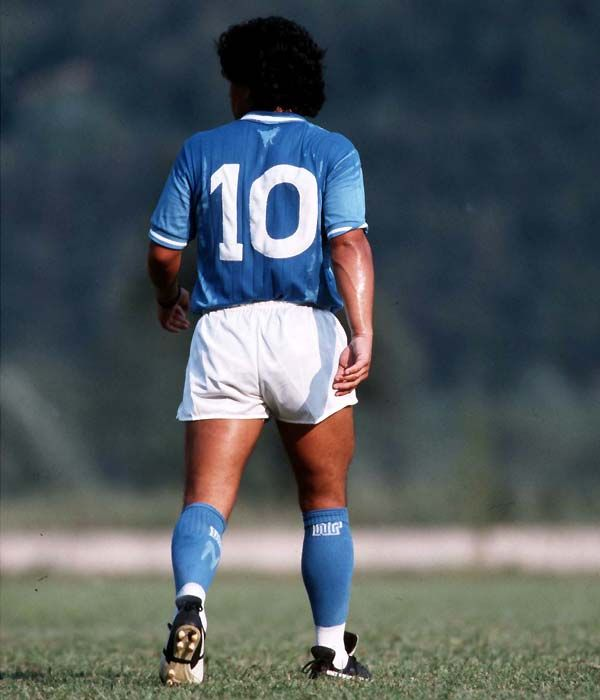 MARADONA instantly became a hero in Naples and he led the club to a glorious five-year spell in which the club won the Serie A title twice, were runners-up twice and won the Uefa Cup and the Coppa Italia.