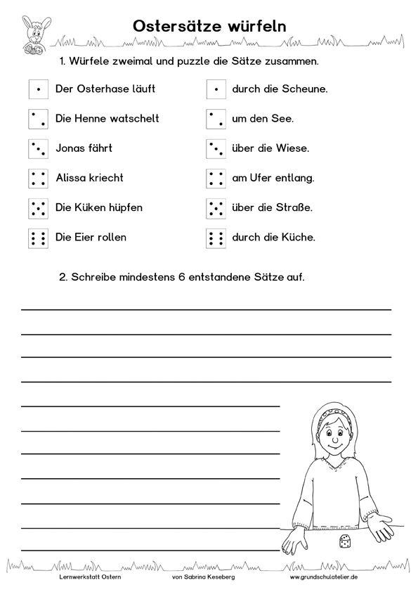 Großzügig Ostersonntag Schule Arbeitsblatt Ideen - Super Lehrer ...