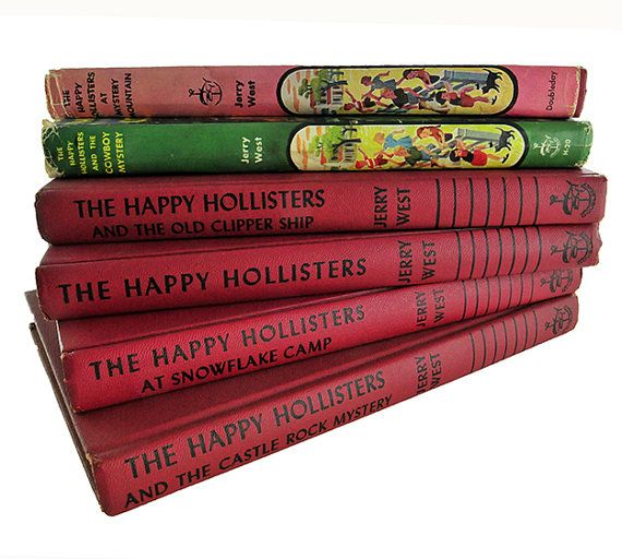 This listing is for a set of 6 vintage Happy Hollister books for children. Penned by Andrew E. Svenson using the pseudonym, Jerry West, these