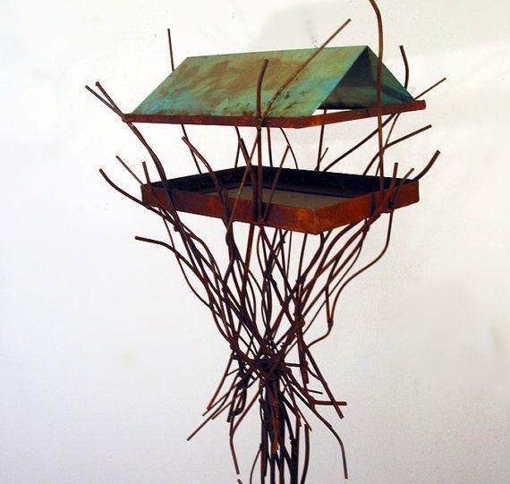 bird feeder sculpture