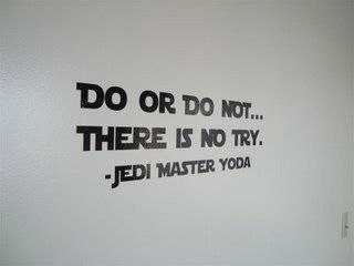 Wall Decal star wars quote 01640 LARGE by bushcreative on Etsy, $35.00