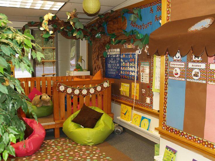 Magic Tree House Theme...tree house reading loft ...