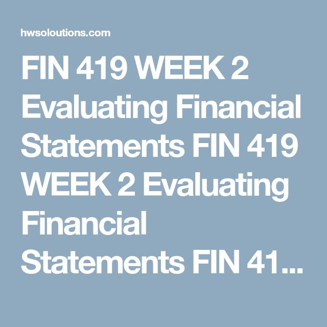 Fin  Week  Cash Conversion Cycle Analysis Fin  Week  Cash