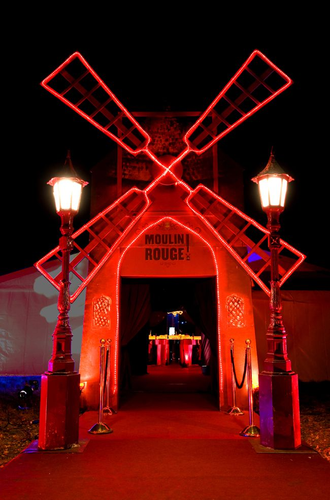 Moulin Rouge entrance   Planning a Moulin Rouge Party in ...