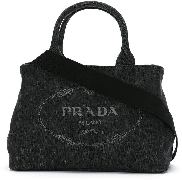 adf1160fb6ce Prada denim 2way bag