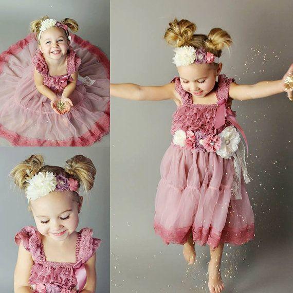 Flower Girl Dresses // Toddler Flower Girl by AdalynsBoutique