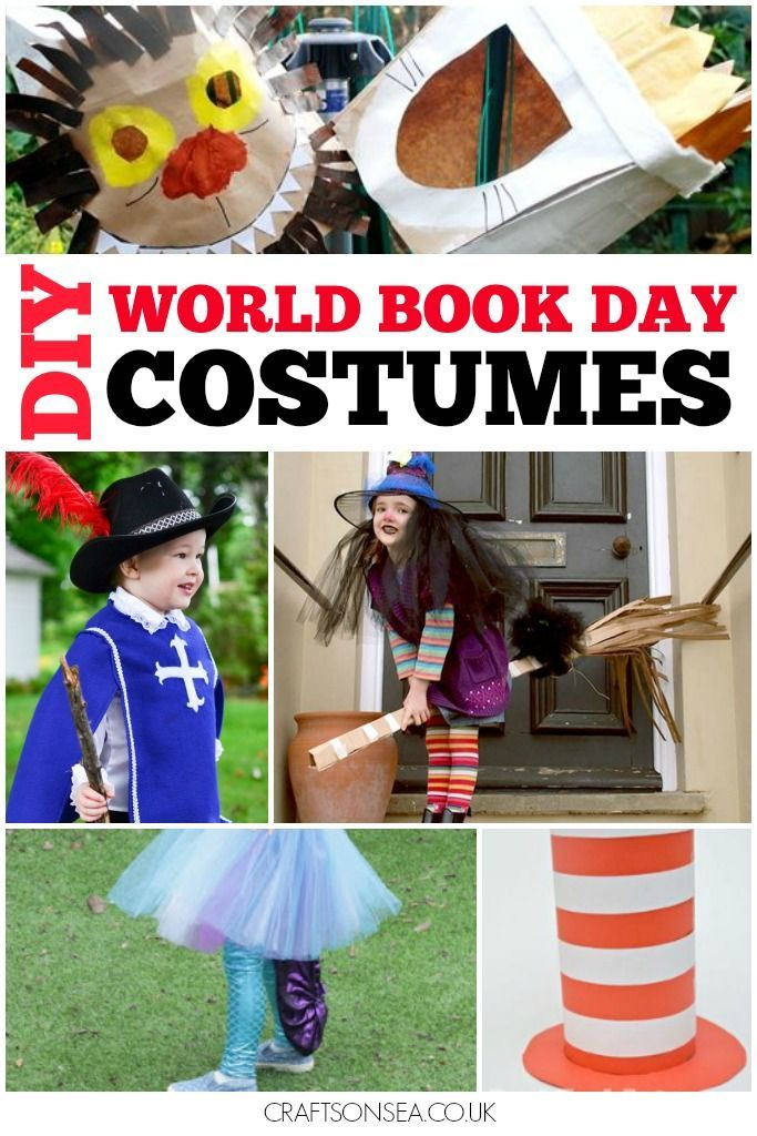 The best World Book Day costumes, with DIY outfits created by parents as well as some great ideas for World Book Day outfits you can buy.