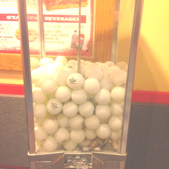 Beer pong ball machine ...