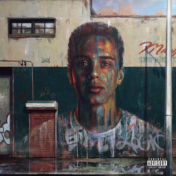 Logic's 'Under Pressure' Deluxe Album Artwork by Sam Spratt