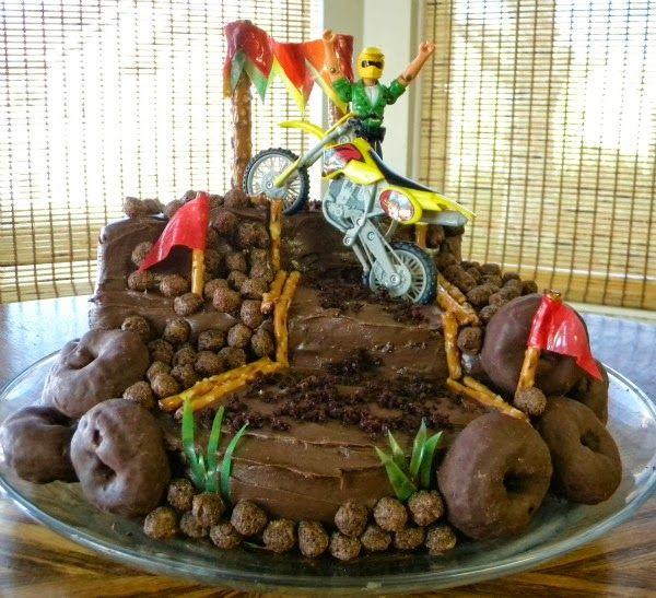 Dirt bike cake, Over The Apple Tree