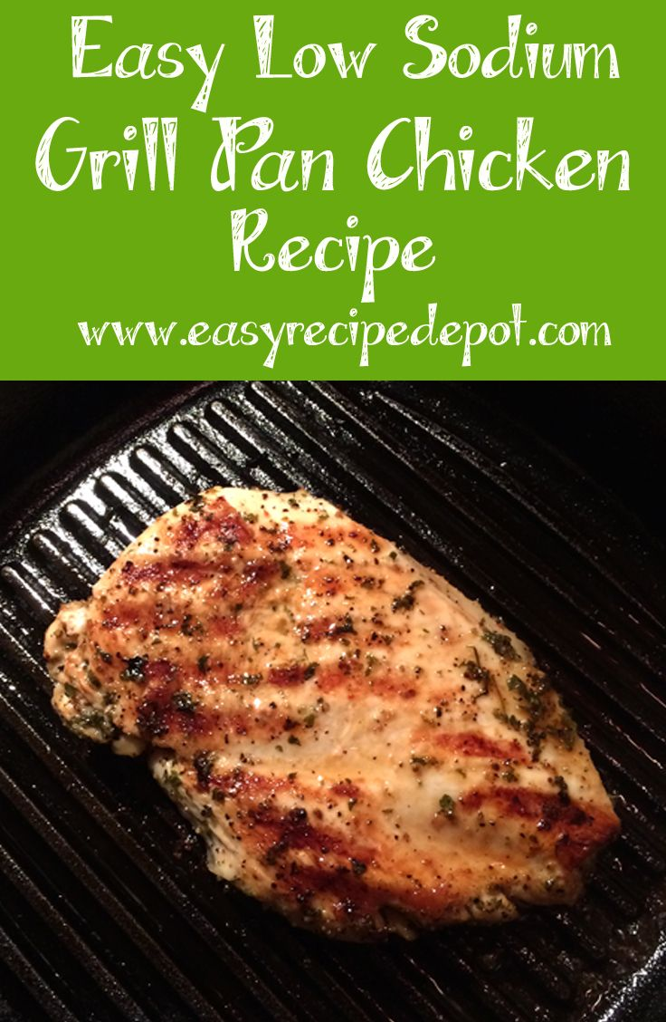 Easy Low Sodium Chicken Breast