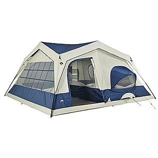The BEST tent ever.  15x15, 2 huuuuge rooms.  $160