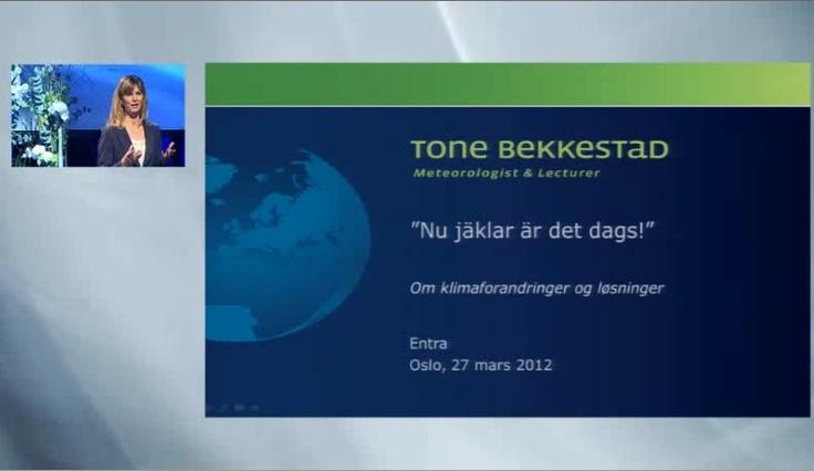 Från Entra-konferensen 2012 i Oslo, där jag presenterade lösningar för byggbranschen.