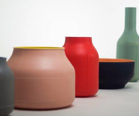 Colección De Cerámica Seams / Benjamin Hubert Para Bitossi Ceramiche