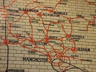 Manchester Victoria station #manchester #oldham #railway