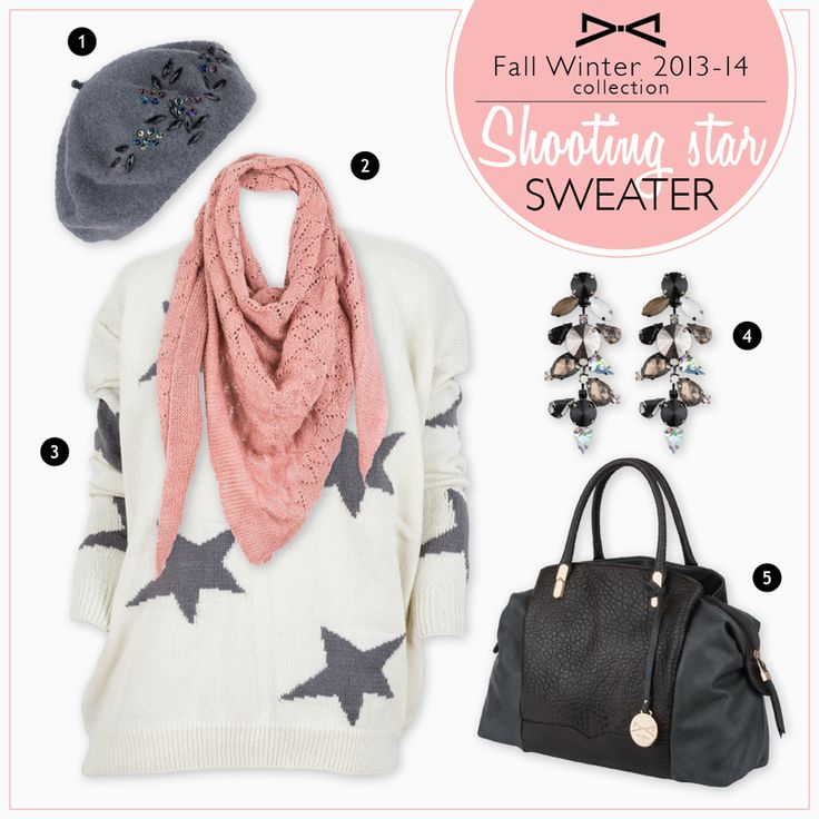 Achilleas accessories | Shooting star sweater!